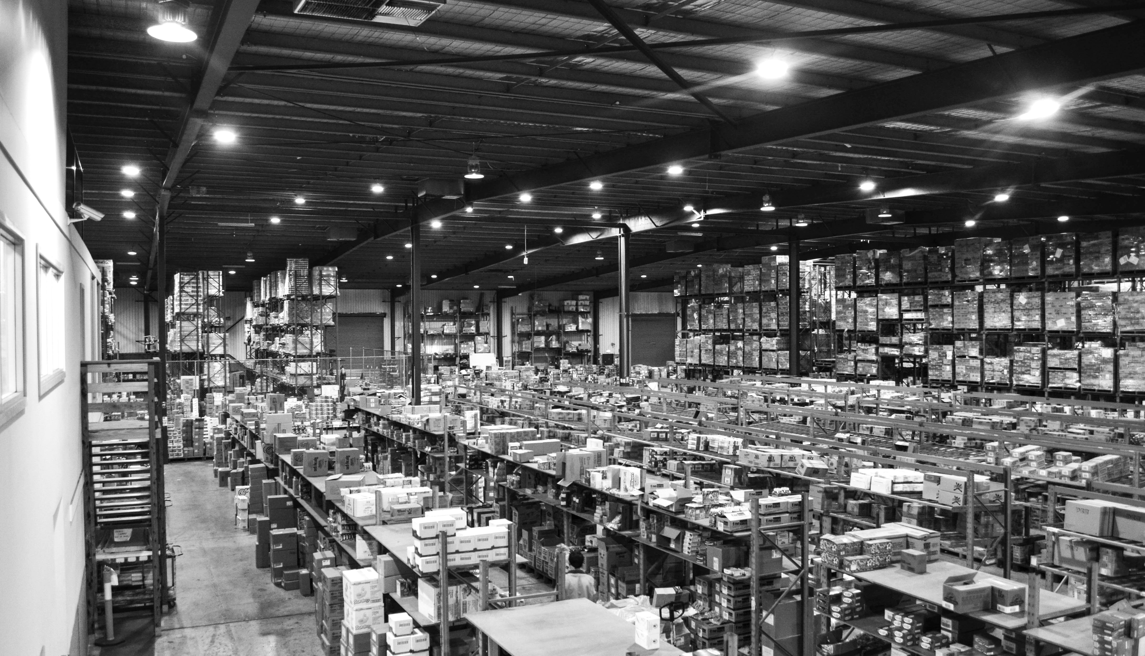 A Tailored Warehouse Lighting Solution for Accredited Distributors